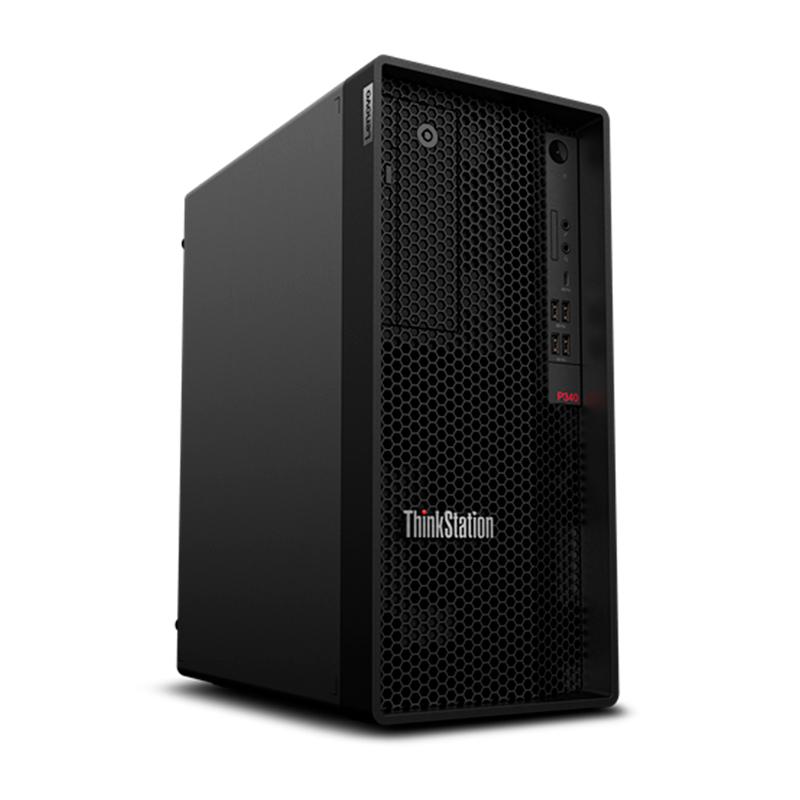 WORKSTATION LENOVO TS P340 TOWER, CORE I7-10700K, 3.8GHZ, 16GB, DDR4, 1TB SATA+256GB, SSD M.2