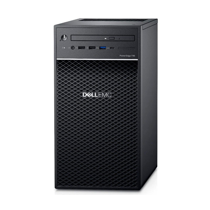 Dell T40, INTEL XEON E- 2224G, 8GB, 1 TB HDD, DVD