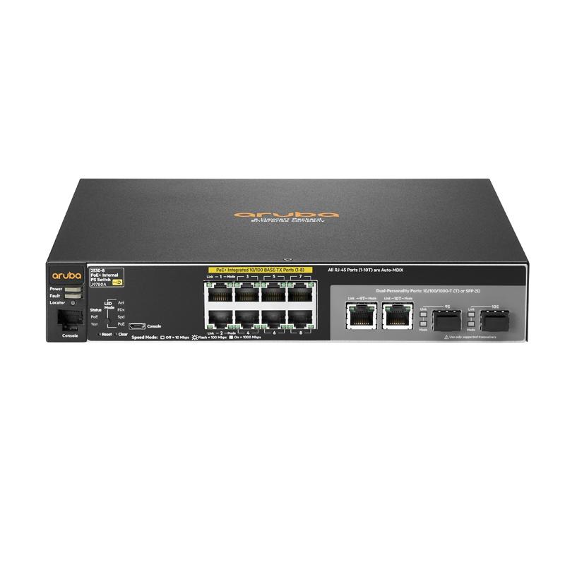 Hpe Conmutador Ethernet Aruba 8 Puertos