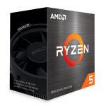 PROCESADOR AMD RYZEN 5 5600X, 3.70GHZ, 32MB L3, 6 CORE, AM4, 7NM, 65W